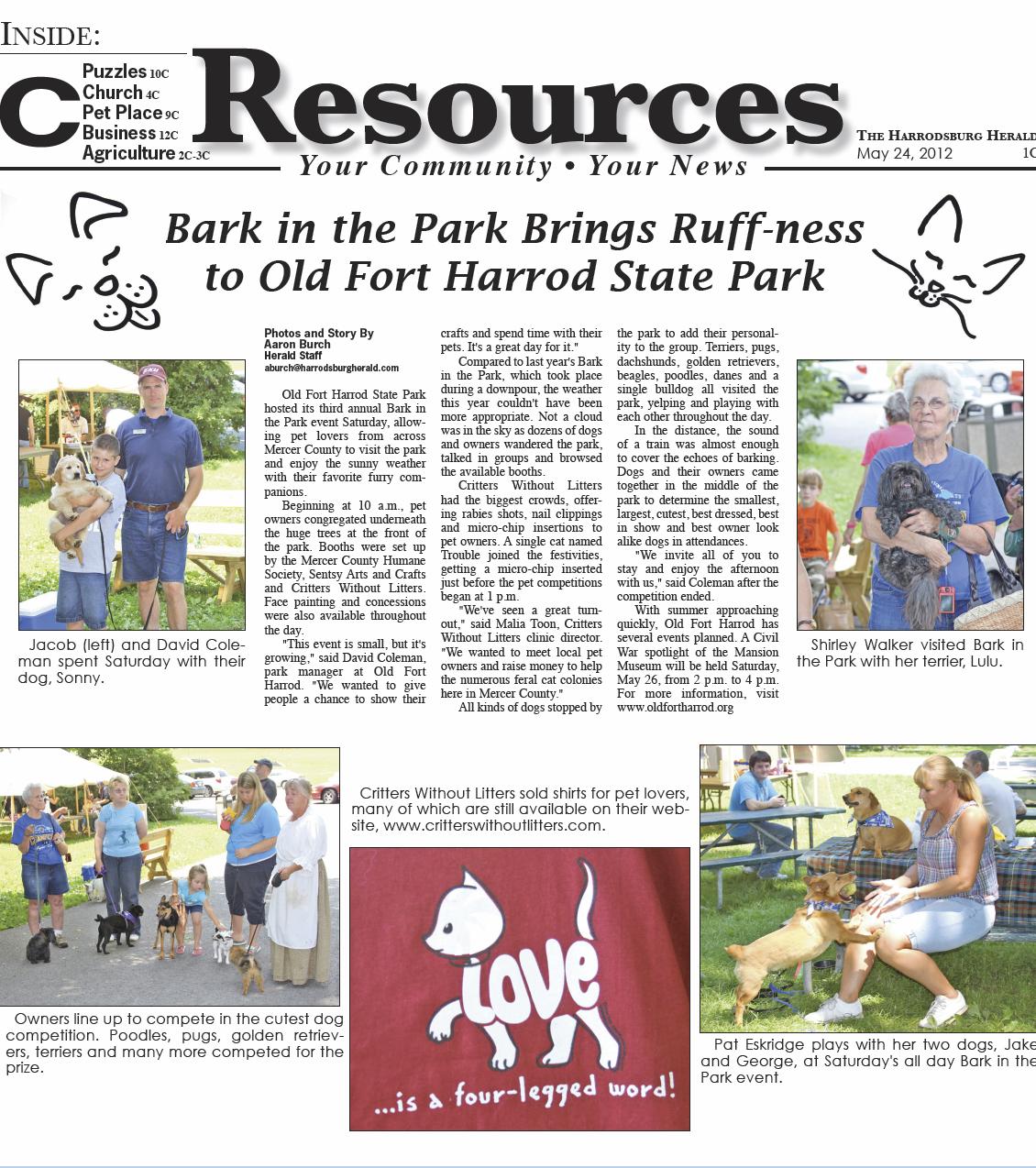 Friends of Fort Harrod Thursday September, 05 2019