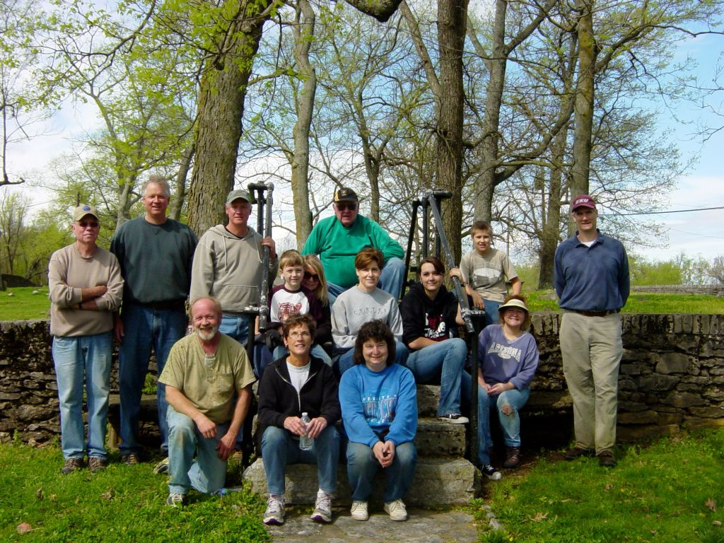 2012 Pick Up The Park Volunteers