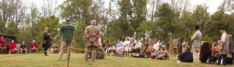 Sunday morning service Boonesborough